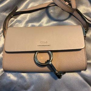 Chloe Faye Mini Wallet Crossbody in Blush